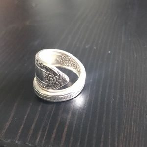 Wrapped Spoon Ring